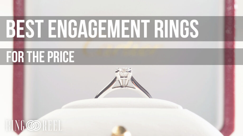best engagement rings for the price
