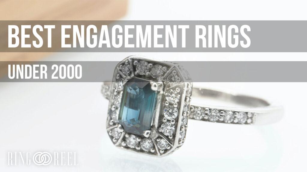 best engagement rings under 2000