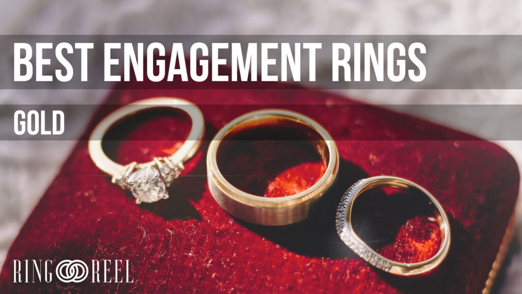 best gold engagement rings