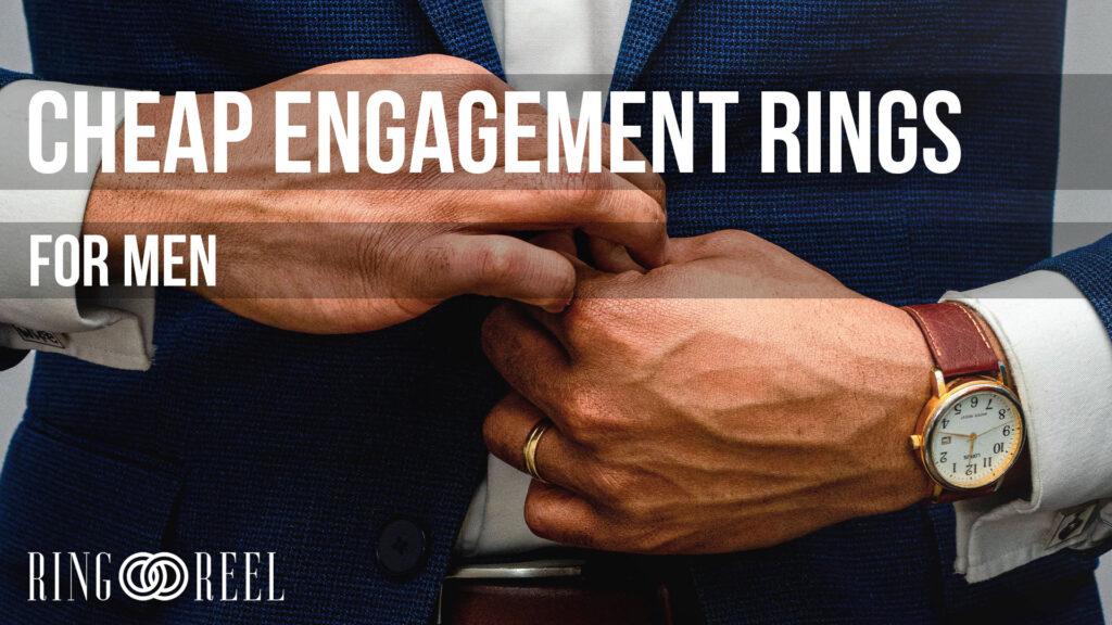 cheap engagement rings for men